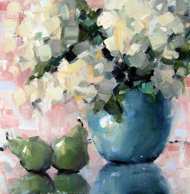 "Gina Brown Art: ""French Country Hydrangeas"""