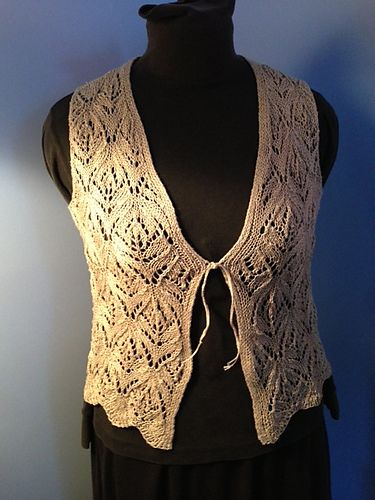 Floral Vest by Jeri Riggs - free through the end of May