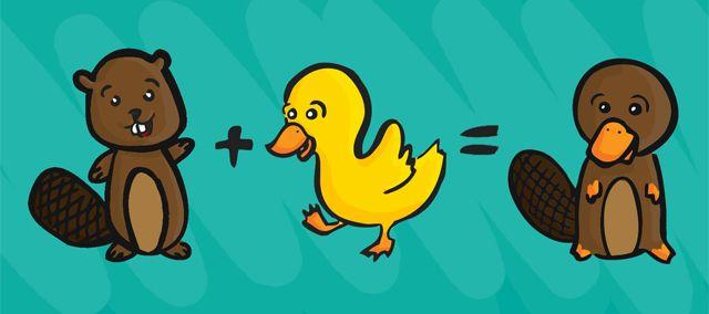 beaver duck\u003dplatypus camartmade character, disney characters Honey Badger Platypus beaver duck\u003dplatypus