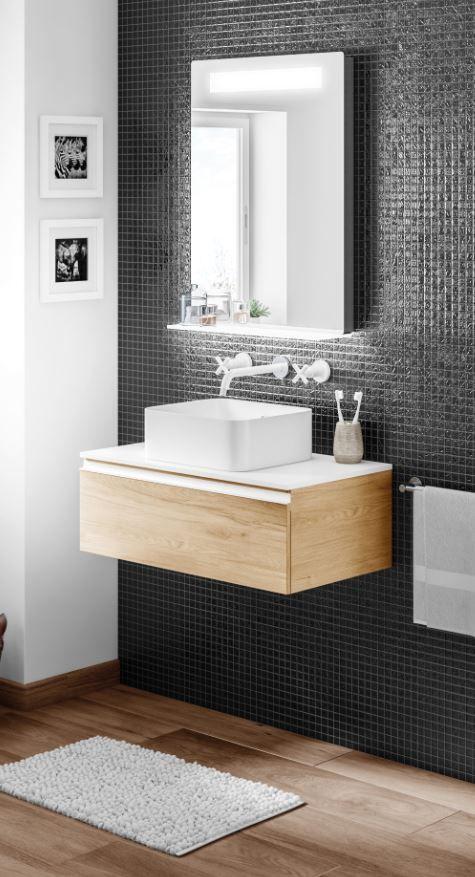 Una buena idea para ba os peque os es optar por un mueble - El mueble banos pequenos ...