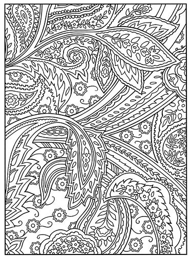 paisley designs coloring book - Paisley Designs Coloring Book