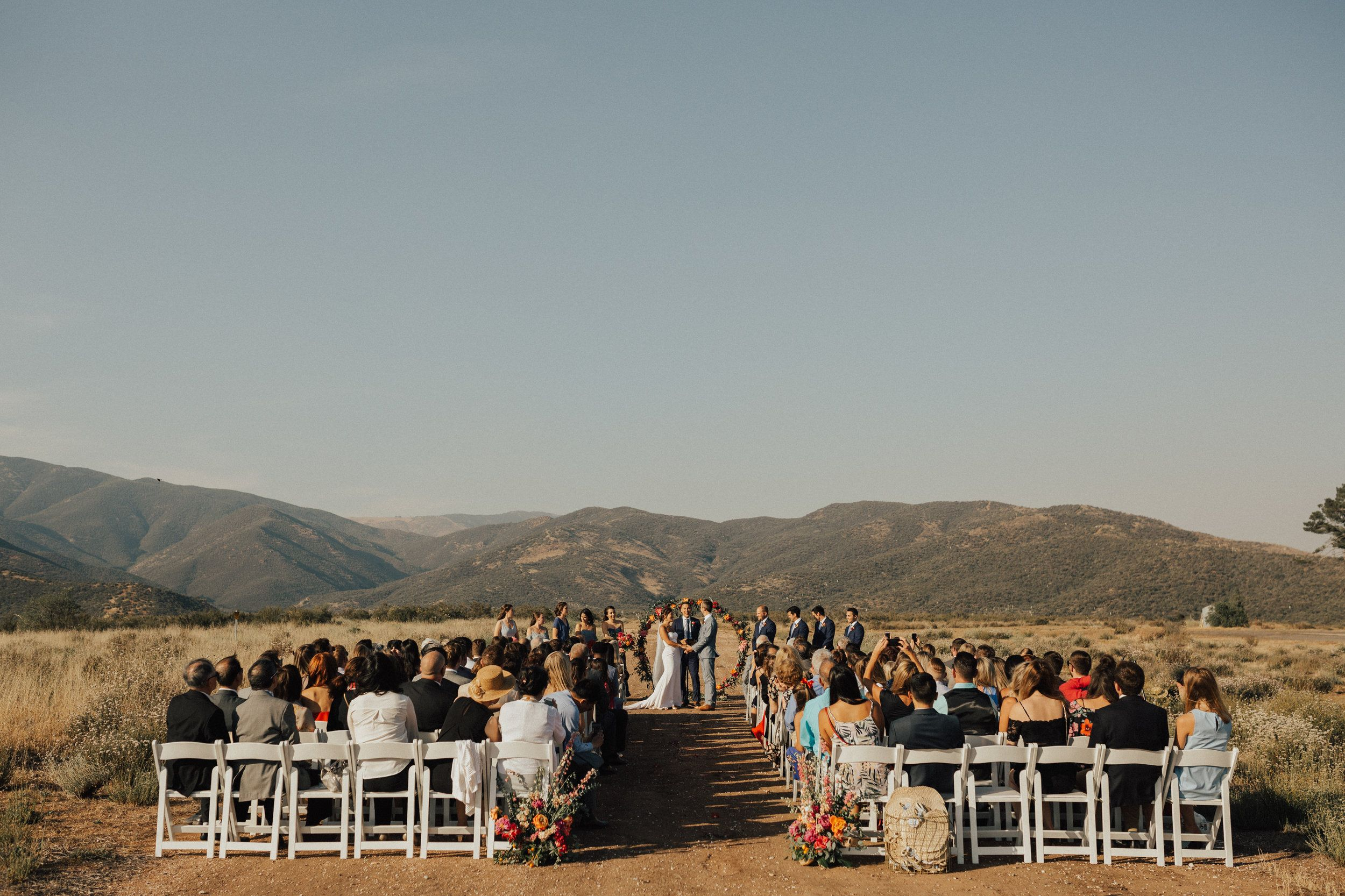 Intimate Outdoor Mountain Wedding Ceremony, Small Wedding || Orange Blossom  Special Events