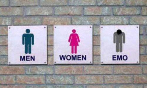 Carteles ba o divertidos 3 hombre mujer pinterest - Carteles para banos ...
