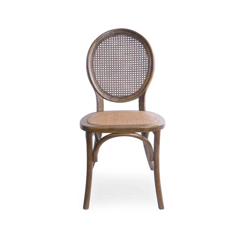Palmer Rattan King Louis Back Side Chair Upholstered Dining Chairs Chair Dining Chairs