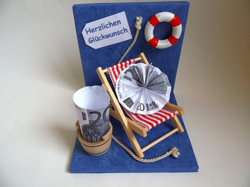 geldgeschenk maritim von mydelphino kreativideen auf. Black Bedroom Furniture Sets. Home Design Ideas