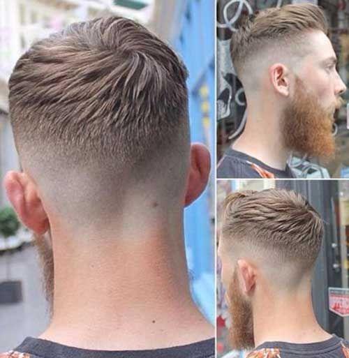 coiffure homme derriere