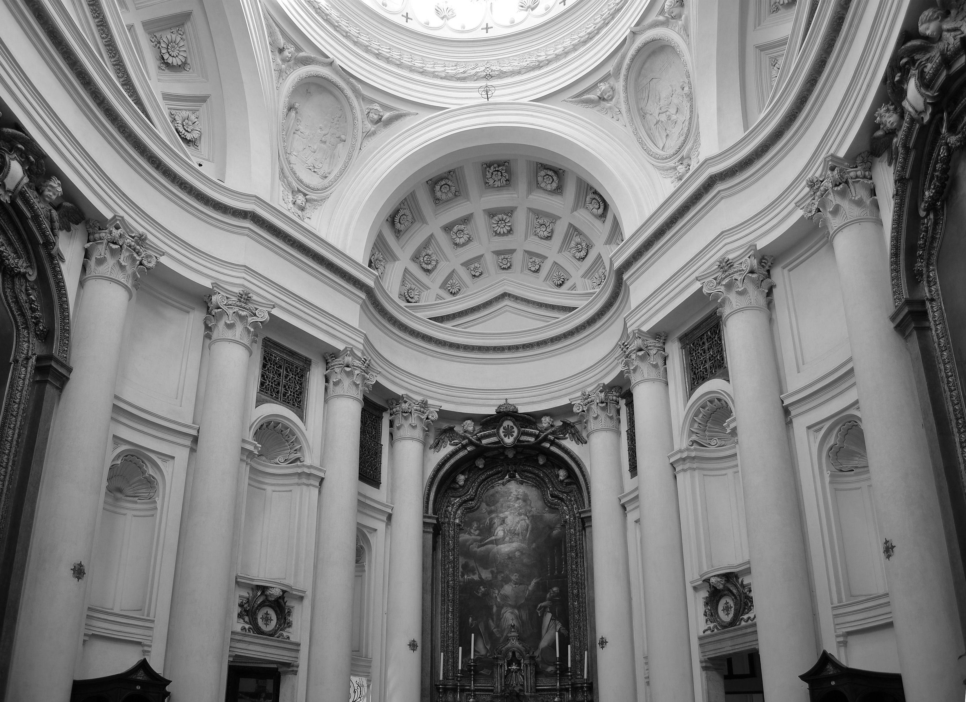 italian baroque architecture, borromini; the sculptural wall of
