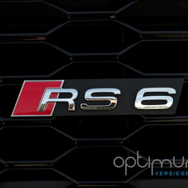 Audi RS6 versiegelt mit Permanon Platinum Autopflege! Infos unter: http://www.optimum-versiegelungen.de
