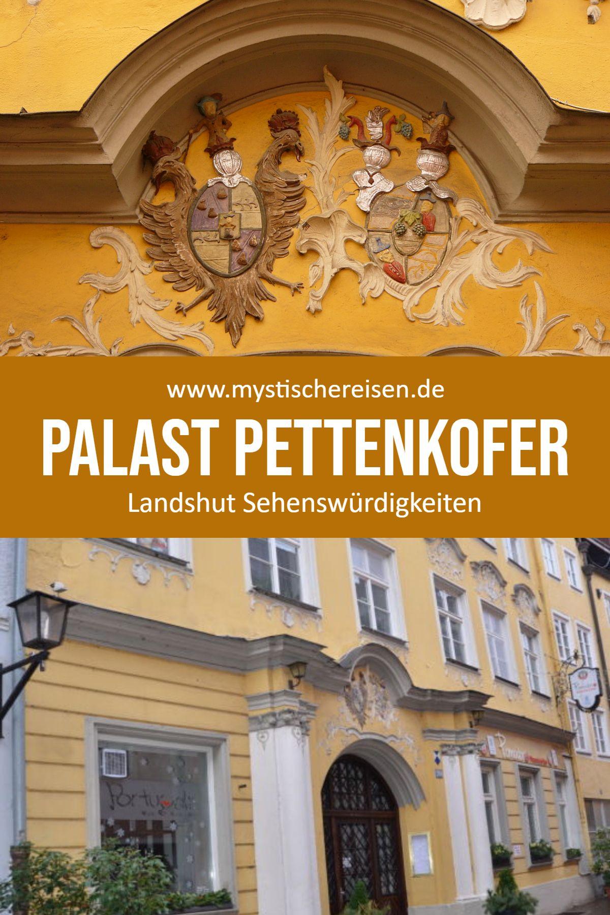 Palast Pettenkofer Landshut Landshut Sehenswurdigkeiten Stadt In Bayern