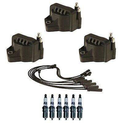 Billet Distributor 8.5mm Spark Plug Wires Coil 1949-53 Ford 255 239 Flathead V8
