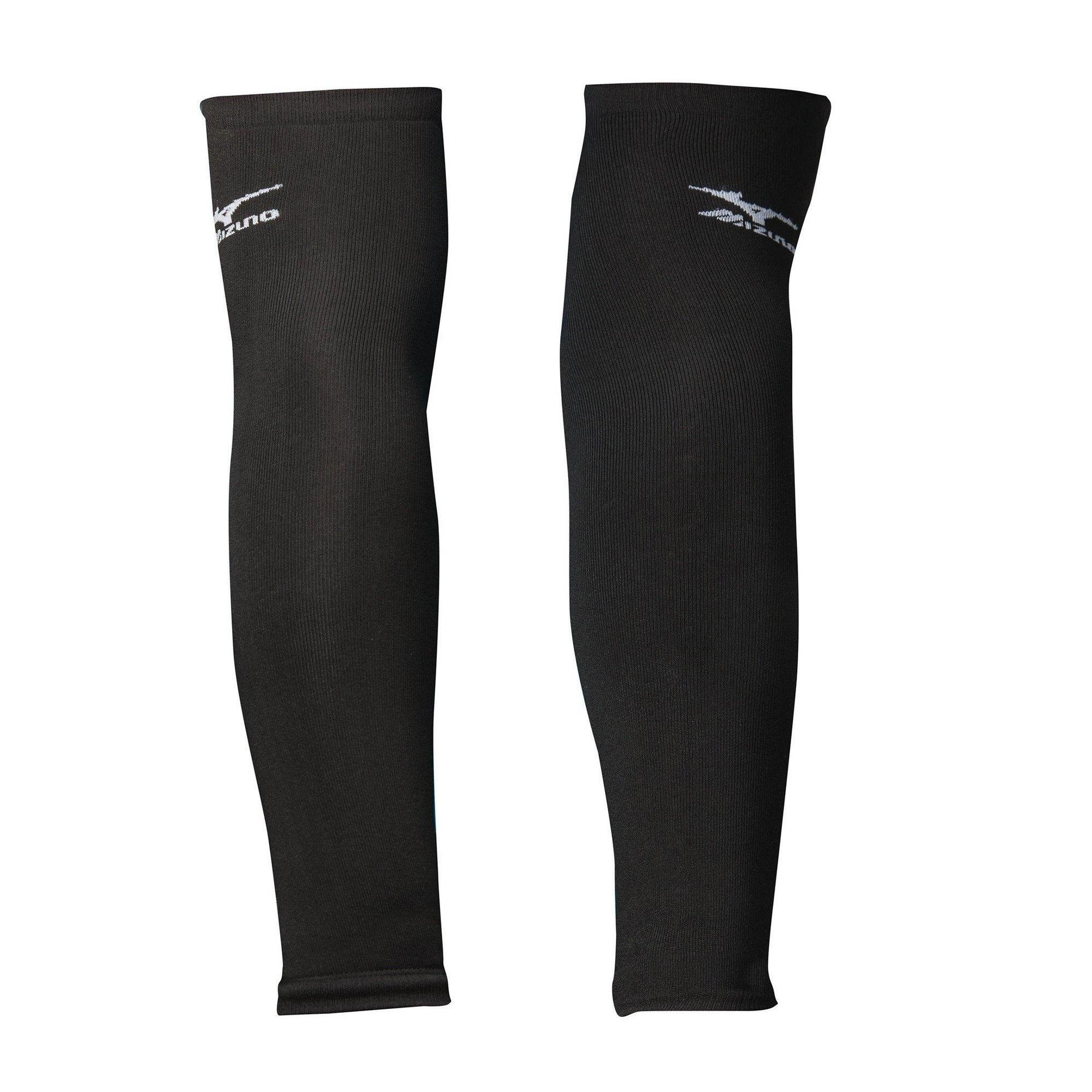 Mizuno Volleyball Arm Sleeves Unisex Size One Size Fits All In Color Black 9090 Mizuno Volleyball Volleyball Volleyball Accessories