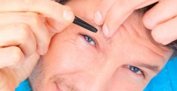 El cuidado de la #belleza masculina las formas de las cejas para - tipos de cejas