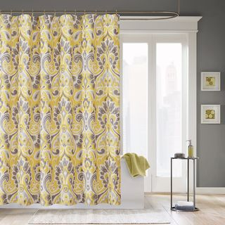 Madison Park Palermo Microfiber Shower Curtain | Overstock.com Shopping    The Best Deals On