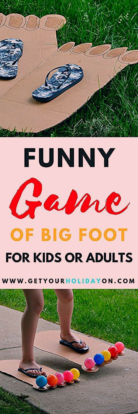 How To Play Hilarious Bigfoot Game Kids or Adults   Get Your Holiday On