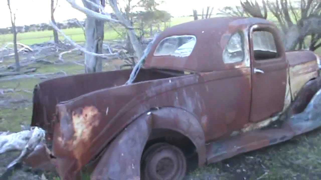 1938 Dodge Richards Body Australian Coupe Ute Utes