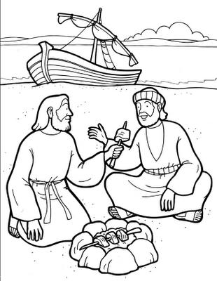 Sekolah Minggu Ceria Gambar Cerita Alkitab Tentang Kematian Jumat