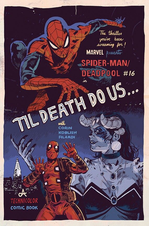 Spider-Man/Deadpool by Michael Walsh