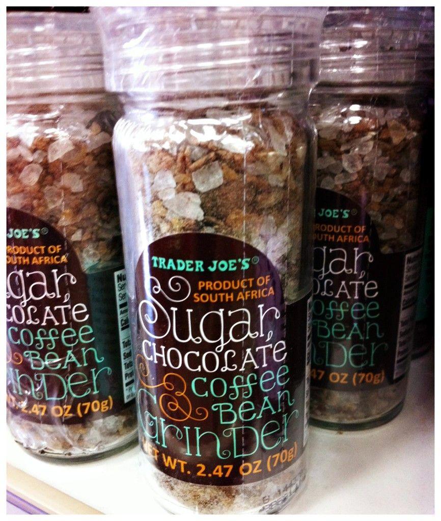 Trader Joe's Sugar, Chocolate, & Coffee Bean Grinder
