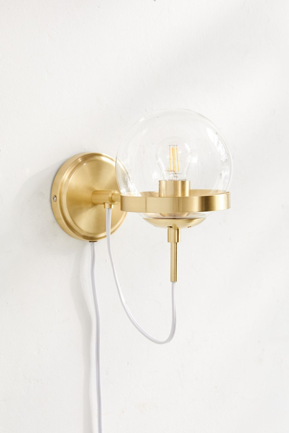 Giuliana Globe Sconce Urban Outfitters Globe Sconce Sconces Interior Wall Sconces