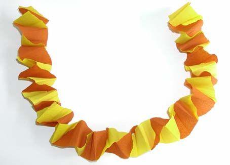 Fabriquer des guirlandes en papier - Fabriquer guirlande papier ...