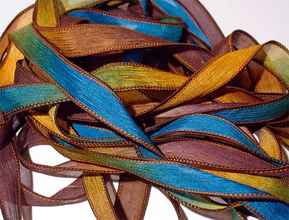 Celestial  42 inch silk ribbon By Color by ColorKissedSingles, $3.00