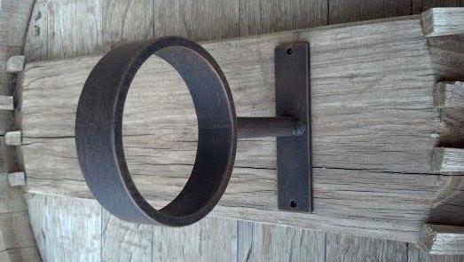 Custom Made Extremely Heavy Duty Ring Bracket Ceiling Wall Etsy Curtain Rods Wall Brackets Closet Rod