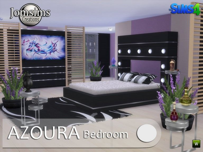 Chambre adulte sims 4 chambre sims 4 pinterest sims for Bedroom designs sims 4