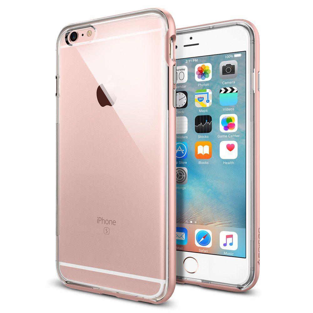 huge discount 75b9e c5f80 iPhone 6s Plus Case, Spigen® [Neo Hybrid EX] PREMIUM BUMPER [Rose ...