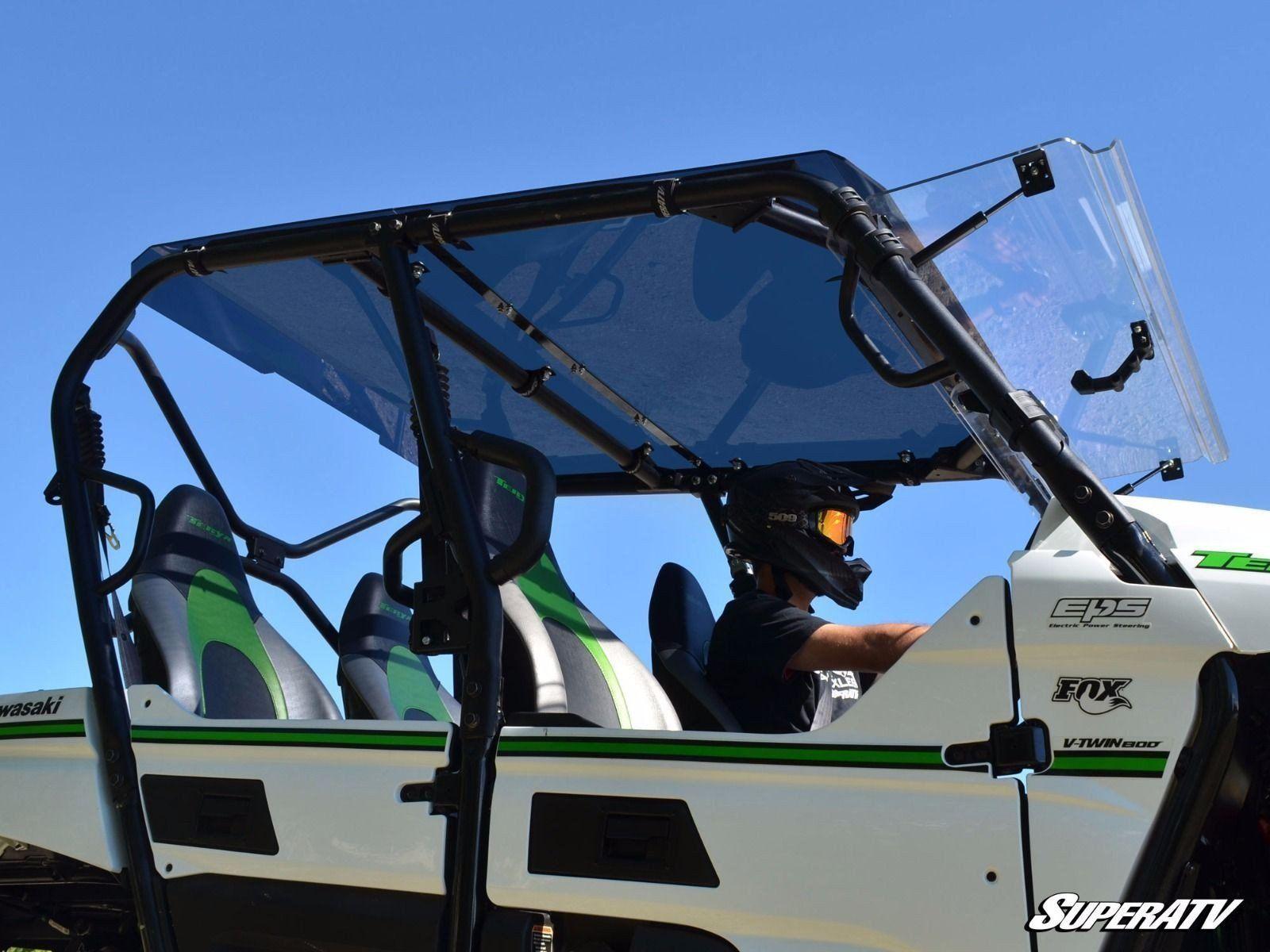 Super ATV Kawasaki Teryx 4 Tinted Roof in 2020 (With