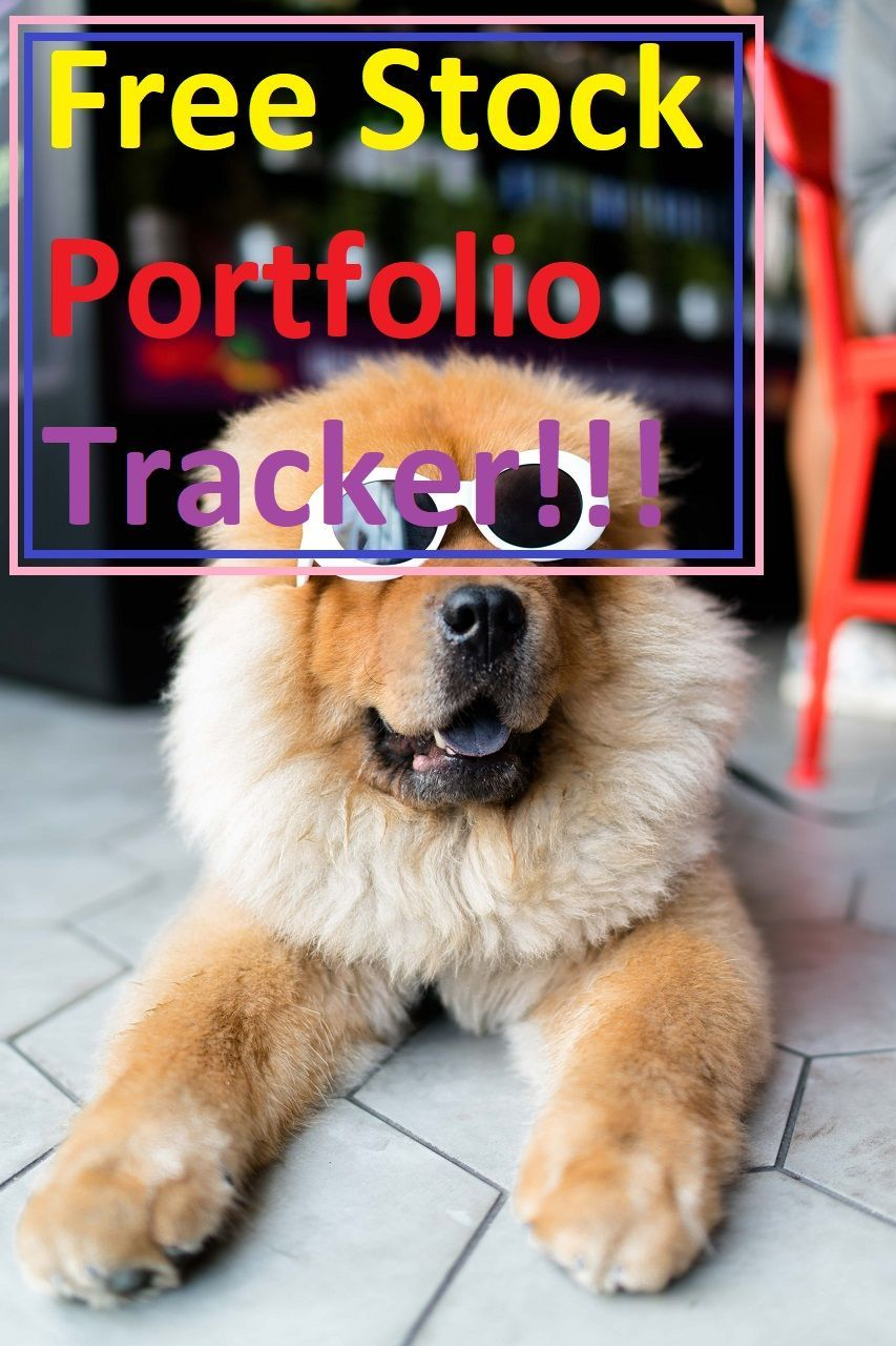 With Google Finance Portfolio going away, here's a free tracker you can use to easily manage your stock portfolio. #stockportfolio