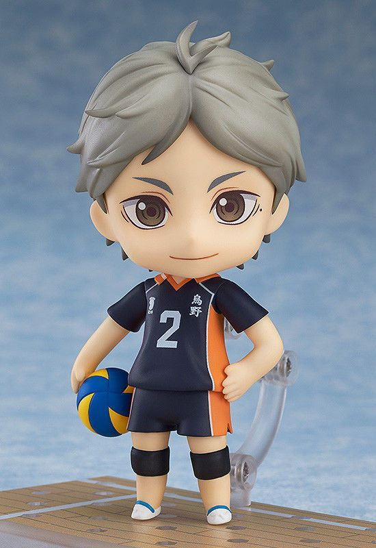 Keiji Akaashi Good Smile Company w//Tracking# form JAPAN F//S Nendoroid Haikyuu!