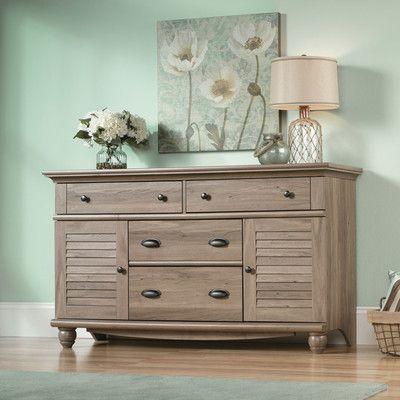 Beachcrest Home Pinellas 4 Drawer Combo Dresser   Wayfair