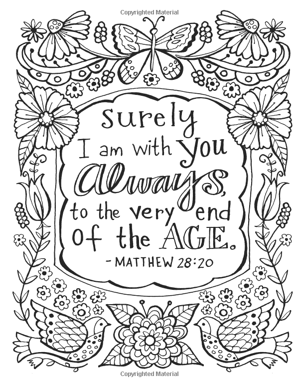 color the promises of god colouring pagesadult - Pages To Color For Adults