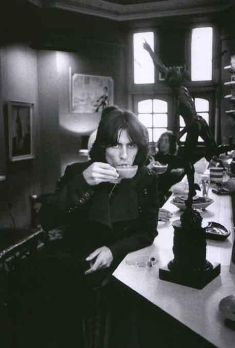 George and his tea