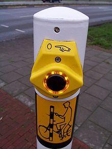 Apparaat voor blinde zodat ze veilig kunnen oversteken