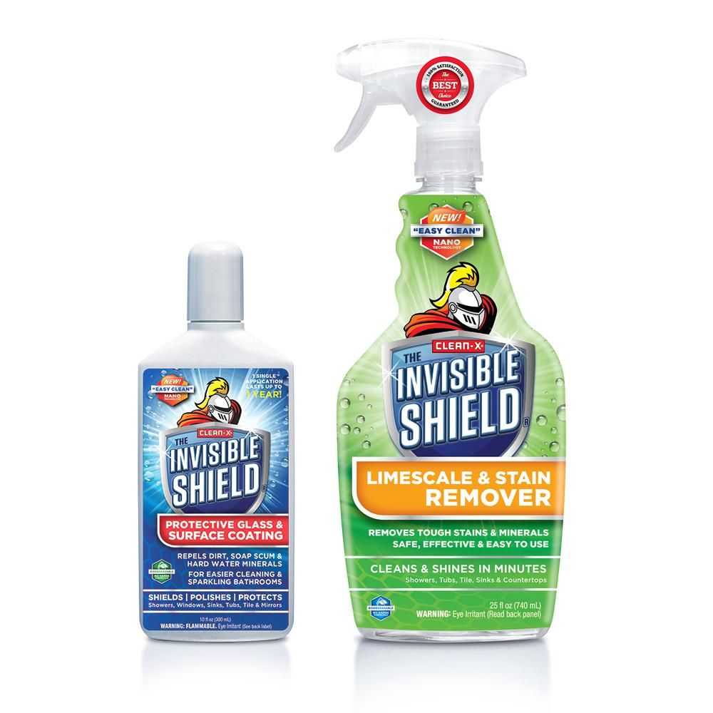 Invisible Shield Tub And Shower Glass Lime Scale Cleaner