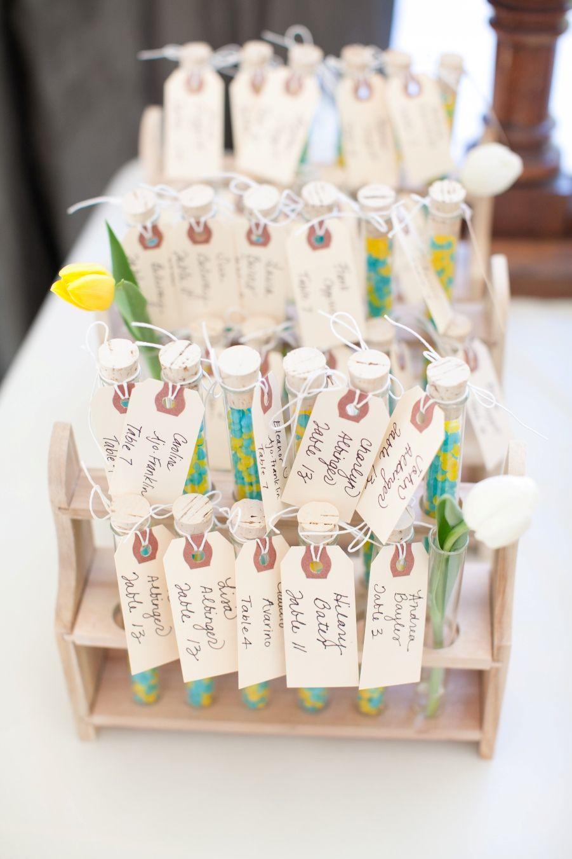 Beautiful Test Tube Wedding Favors Ensign - The Wedding Ideas ...