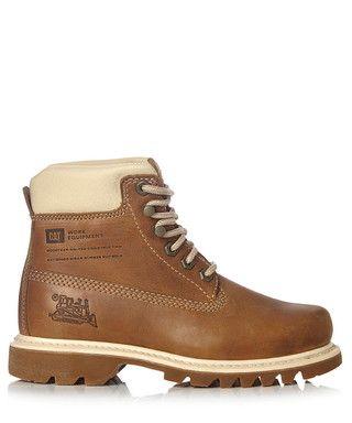 Womens Bruiser Golden Brown Ankle Boots Sale Caterpillar