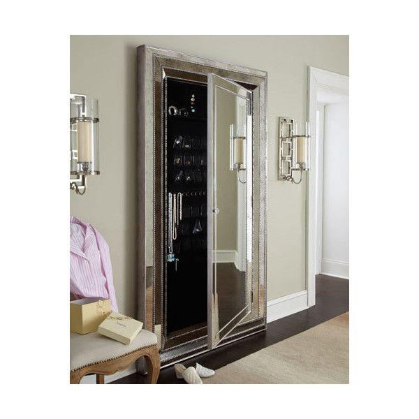 Hooker Furniture Glam Floor Mirror ($1,899) ❤ liked on Polyvore ...