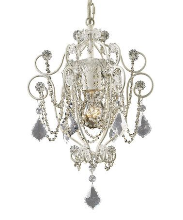 For my bedroom! This Elise Mini Chandelier is perfect! #zulilyfinds