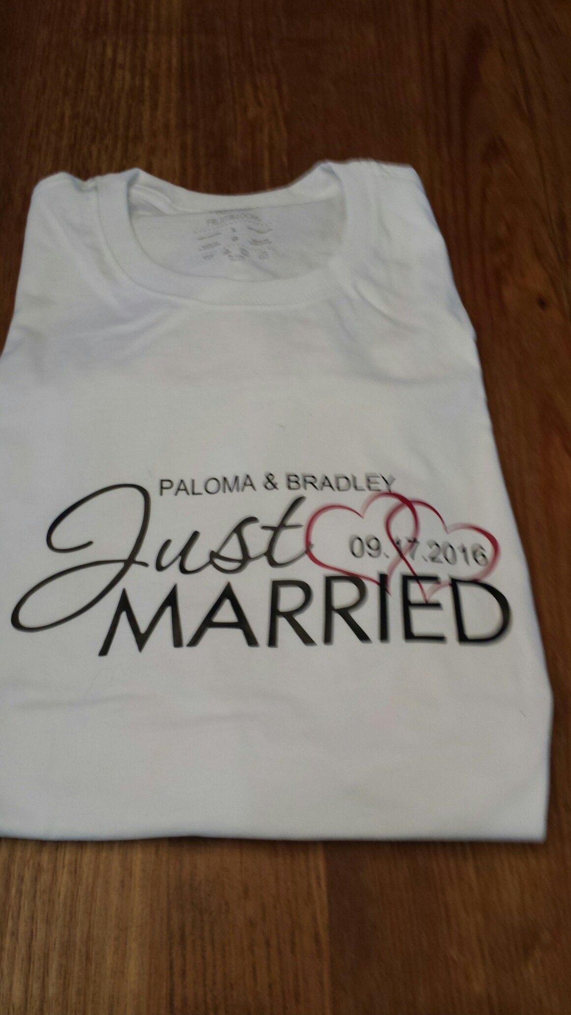 Just marries shirt