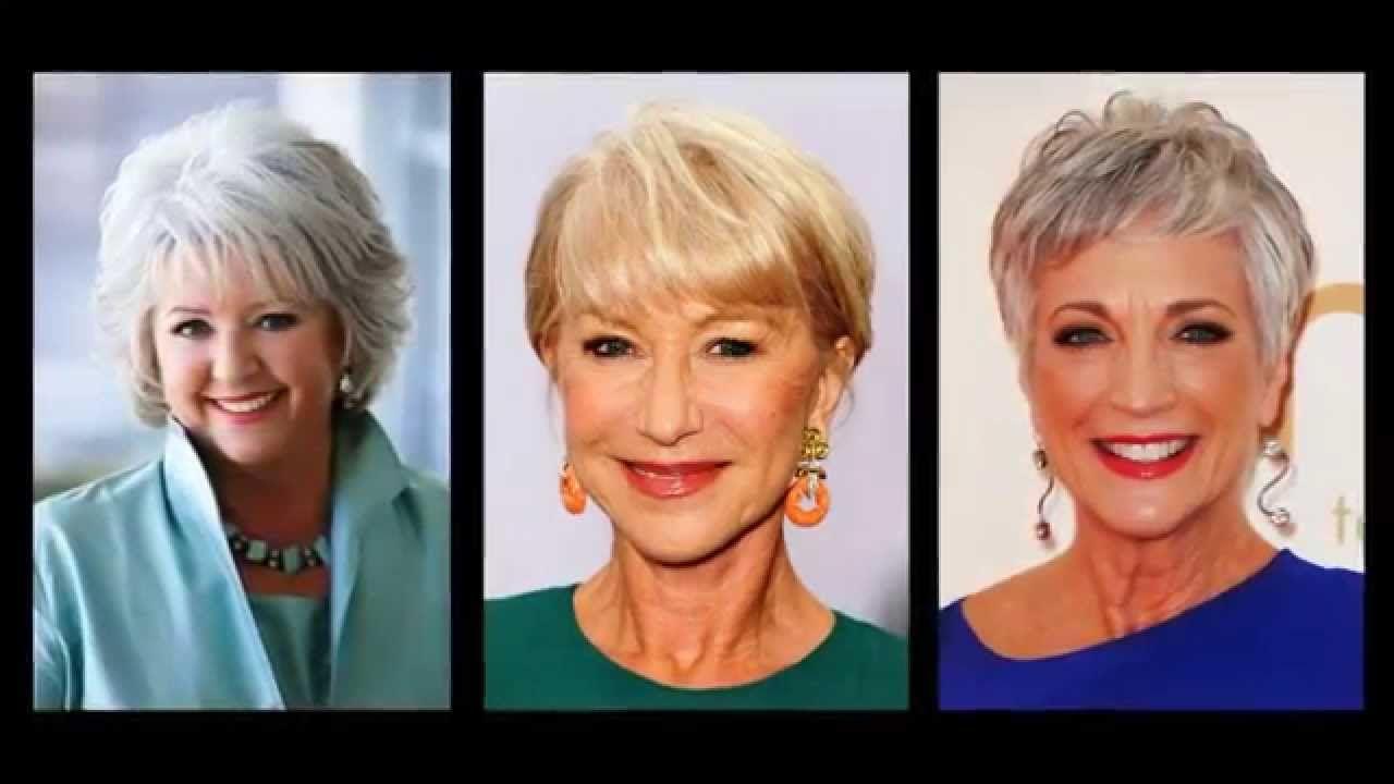 Frisuren Für Alte Frauen Youtube #frauen #frisuren ...