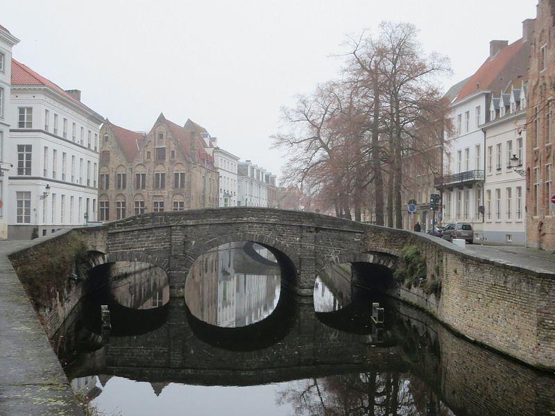 Bridge in Bruges, Belgium