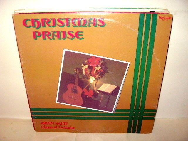 Arlen Salte - Christmas Praise Guitarist CANADA LP Vinyl