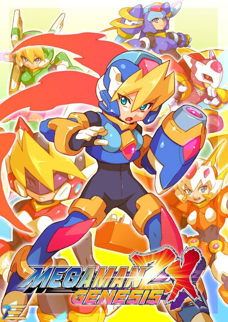 Megaman ZX Genesis - Update Art 2 by Tomycase on DeviantArt