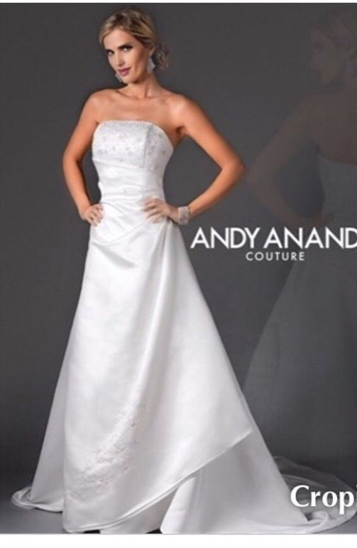 Ladies We Have Many BEAUTIFUL Bridal Gowns In At Discounted Prices This Andy Anand Couture Is New With Tags Size 6 Only 150 Designer Consign