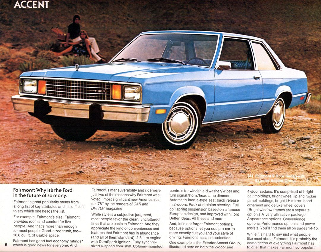 1980 ford fairmont best car i ever had