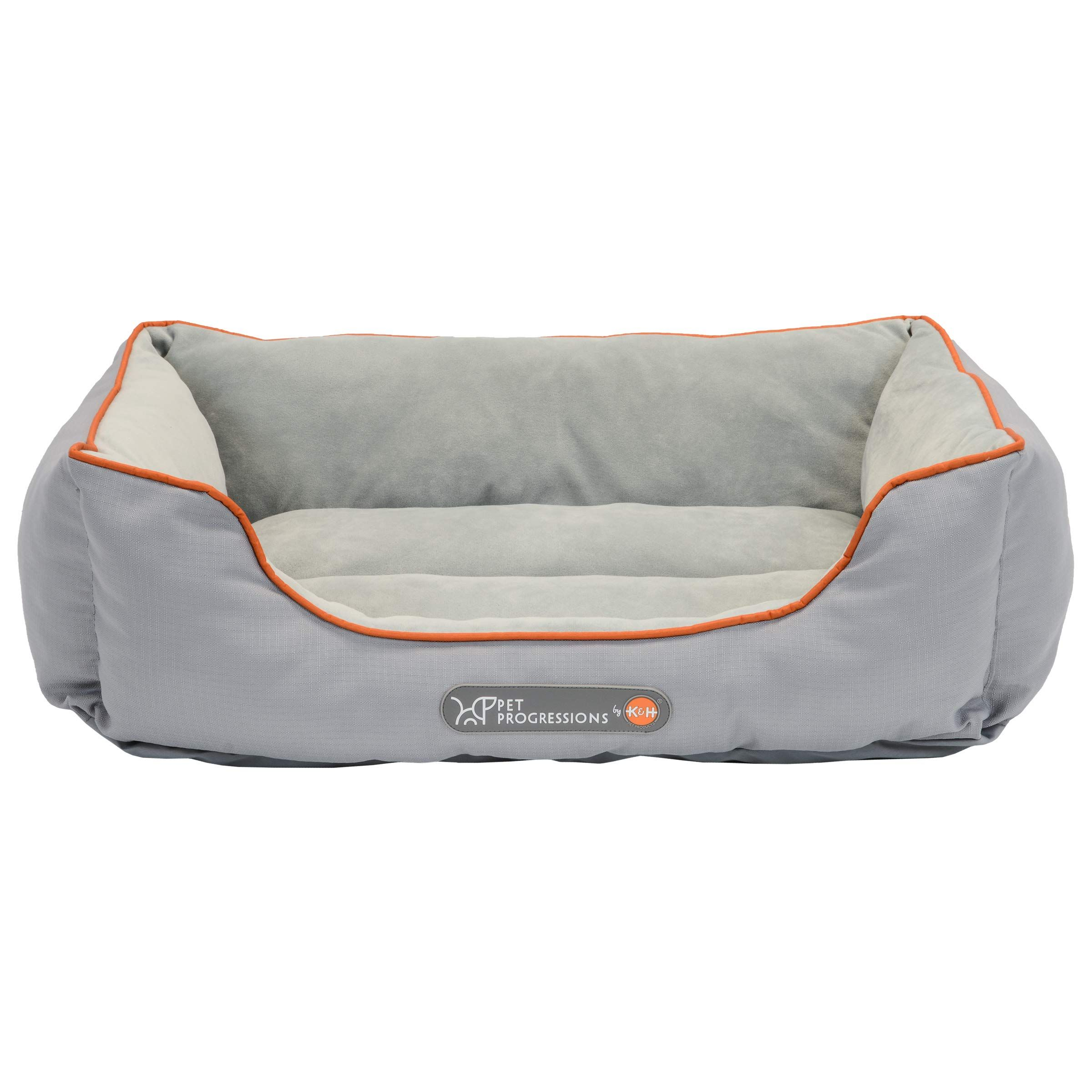 Pet Progressions By K Amp H Waterproof Puppy Bolster Pet Bed