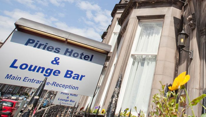 Piries Hotel Budget Hotels In Edinburgh Near Airport