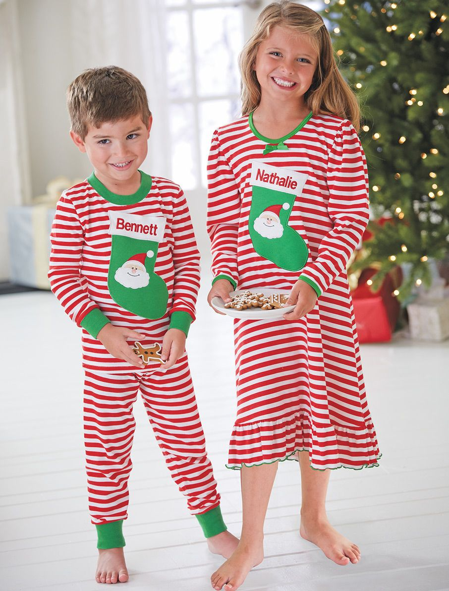 376aac65df10 From CWDkids  Personalized Stocking Pajama Collection